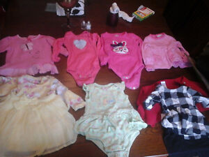 Size 6 month baby girl clothes