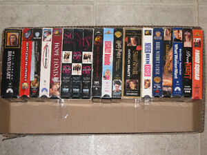For Sale Over 90 VHS Movie Tapes