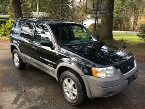 2001 Ford Escape 4x4 XLT $3600