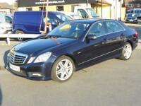 2009 Mercedes E220 CDI BLUE EFFICIENCY AUTO SPORT Diesel Car *Only 68,000 Miles*