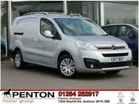 2017 Citroen Berlingo 1.6 BlueHDi 725 X Crew Van L2 6dr Other Diesel Manual