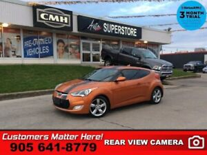 """2012 Hyundai Veloster Base  MANUAL HS CAM 7""""-TOUCH BT S/W-AUDIO"""