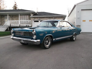 VERY RARE 1967 CYCLONE WITH GT OPTIONS