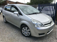 ✿05-Reg Toyota Verso 1.6 VVT-i T2 ✿TWO OWNERS ✿7 SEATER✿