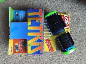 Tetris bop it game