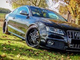 "Black 19"" 5x112 Deep Dish Split Rim Alloys - Audi, VW & Merc Fitment"
