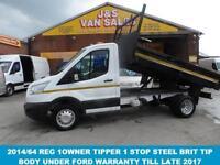 TIPPER ( 125 BHP ) SINGLE CAB TIPPER ONLY LOW MLS VAN