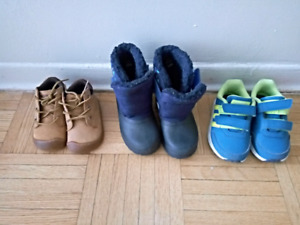 Infant shoes and winter boots