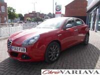 2013 Alfa Romeo Giulietta 1.4 TB MultiAir Collezione 5dr ** SPECIAL EDITION RED