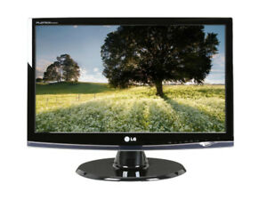 "PC Monitor LG Flatron W2453V 24"" Full HD 1920 X 1080 HDMI (2ms)"