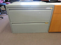 Grey 2 Drawer Filing Cabinets