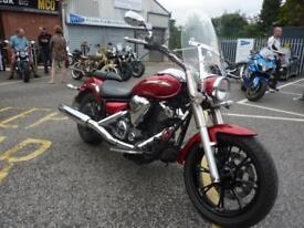Yamaha XVS950 Midnight Star, 12/12reg 23993miles 2 owners VGC