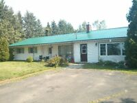 Large bungalow in upper coverdale