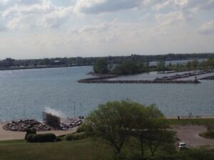 Waterfront Condo 1 Bdrm - Avail Sept 1-Lndry/Parking/Util Incl