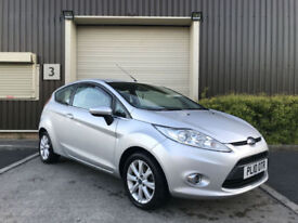 (10) 2010 Ford Fiesta 1.25 82ps 2010.5MY Zetec 3 Dr Low Mileage 34 000