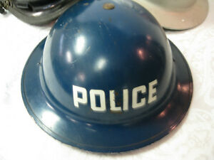WW2 Miltary Police Helmet -- FROM PAST TIMES Antiques & Coll