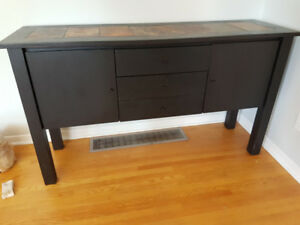 BUFFET OR HALL TABLE