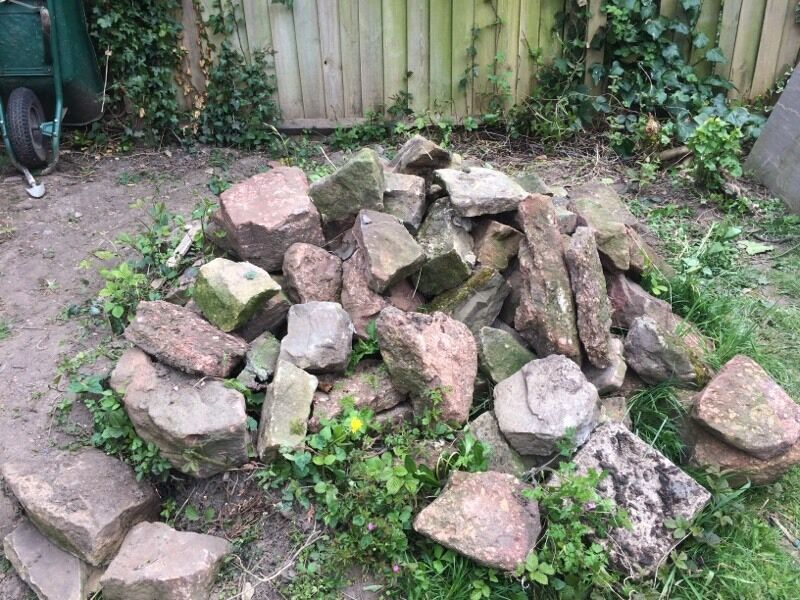 Rockery for the garden buy sale and trade ads great prices for Large garden stones for sale