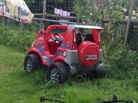 Heavy duty electric car toy