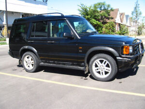 2002 Land Rover Discovery series2 SUV, Crossover