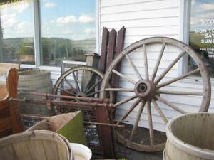 Outdoor Decor - Wagon Wheels & more.....