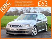 2006 Saab 9-3 1.9 TiD Turbo Diesel 150 BHP Vector Sport 6 Speed Estate Full Leat