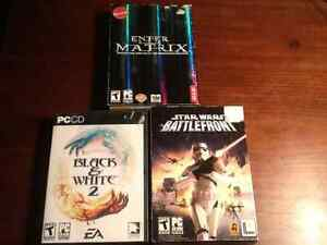 Various PC games $18 to $30
