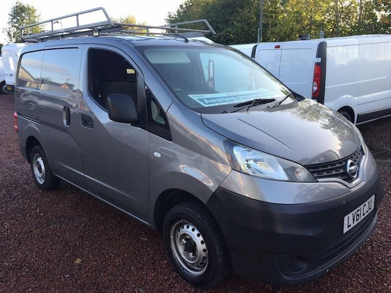 '61 Nissan NV200 DCi Se, metallic paint, low miles, high spec, very rare