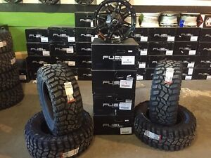 Jeep Wrangler Off Road Rim & Tire Package!!!!!