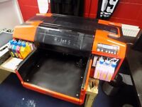 Quick Sale Resolute DTG R-Jet 5 Textile Printer Garments £2999