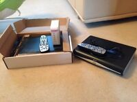 2 Sky hd boxes + 2 remotes + sky router