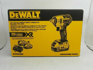 "DeWalt 3/8"" (9.5mm) Compact Impact Wrench Kit"