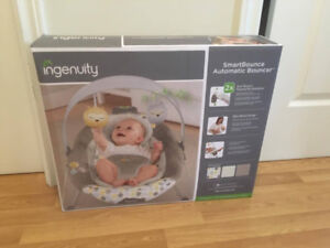 Brand new (unopened) Ingenuity SmartBounce Automatic Bouncer