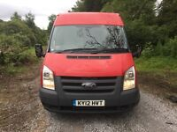 Ford transit 2012 air con full electric pack.one owner full history