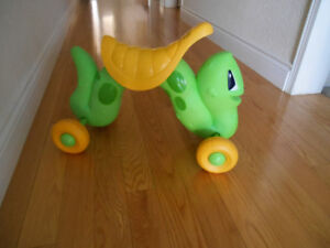 caterpillar ride on for toddler