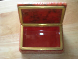 Alabaster Jewelry Box.Reduced price