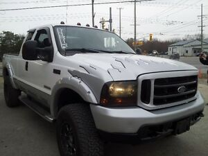 2004 Ford F-250  Pickup Truck DIESEL LIFTED CERT SAFTY!!