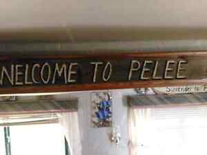 Pelee Island camping seasonal trailer