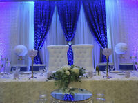 Wedding coming up, Full service decor within your budget.call us