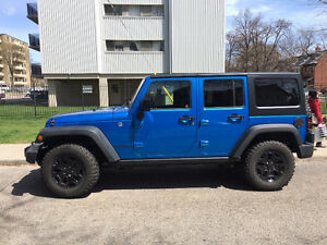2016 Jeep Wrangler Willy's Edition - Barely Used