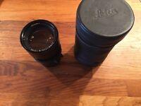 Leica M. 90mm Summicron f2.0