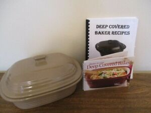 New Pampered Chef Deep Covered Baker - $50.00
