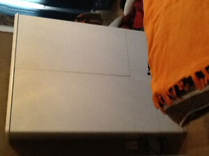 Bedroom set with base that fit queen mattress 5 pieces