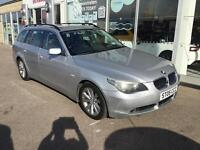 BMW 525 2.5TD auto 2005MY d SE Touring with FULL LEATHER INTERIOR