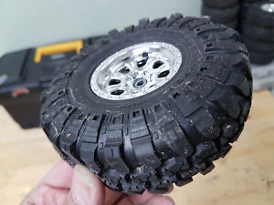 Rc scale tires and rims. Radios and bodies