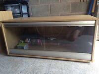 4ft vivarium with cabinet including accessories