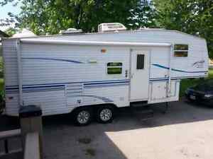 2001 Limited Edition Prowler 5th Wheel  trailer