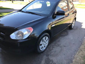 2010 Hyundai Accent SE, 2 door, hatchback, 169kms!