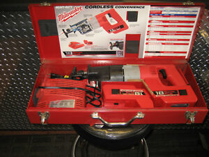 two millwaukee 18 vt battery sawzalls in cases w/accessories Kingston Kingston Area image 2