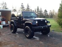 2010 jeep wrangler lifted